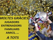 Podium campionat de futbol sala JJEECC 2015 16