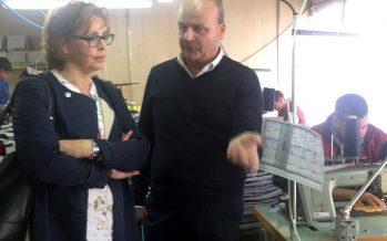 La presidenta de la Mancomunitat visita l'empresa Motiva