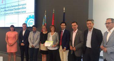 La Jornada de Movilidad Sostenible de Camp de Túria recibe el Segundo Premio de la Semana Europea