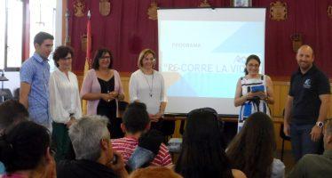 """Cerca de una veintena de jóvenes participan en el programa """"RE-CORRE LA VIDA"""""""