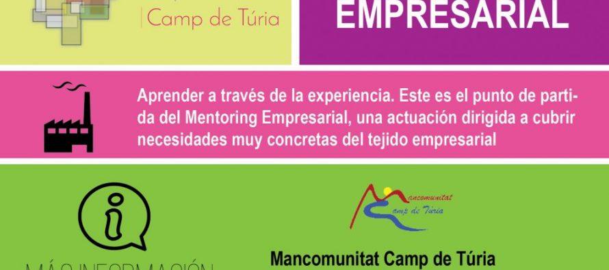 Mentoring empresarial en el Acuerdo Territorial de Empleo de la Mancomunitat