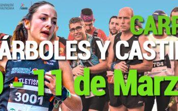 La IX Carrera de los Árboles y Castillos se celebrará el 10 y el 11 de marzo