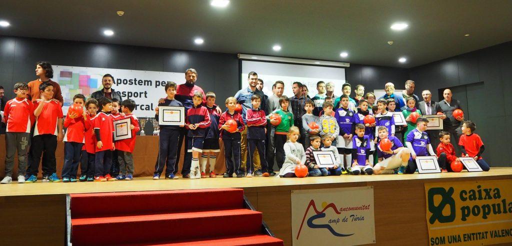 Gala del deporte mancomunitat camp de Turia