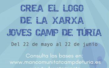 Concurso de diseño para el logotipo de la Xarxa Joves Camp de Túria
