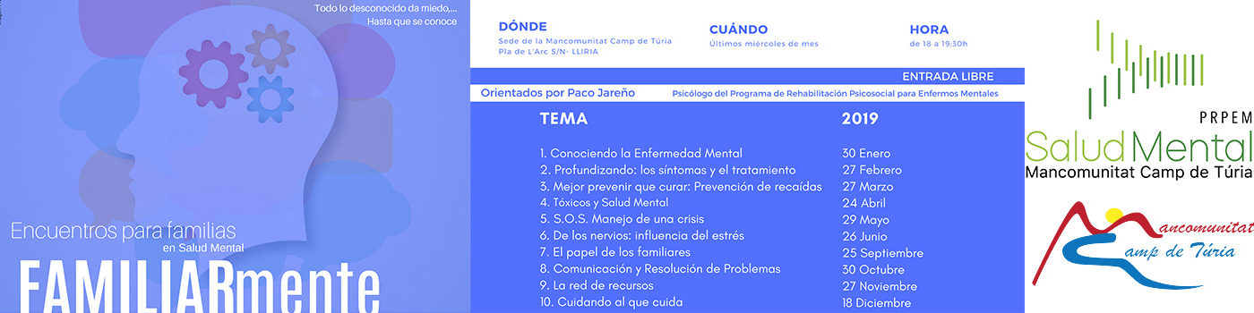 Programa Salud Mental Mancomunitat Camp de Túria