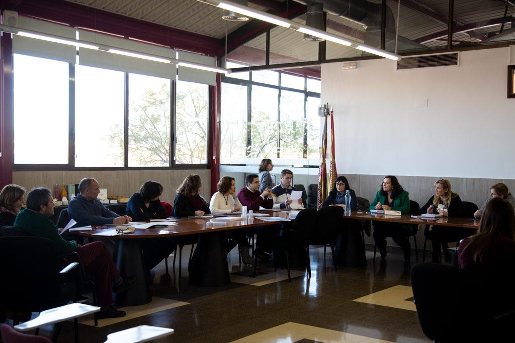 reunión comité técnico ATE Camp de Túria