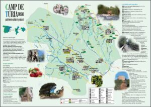 Descárgate el mapa de la comarca Camp de Túria