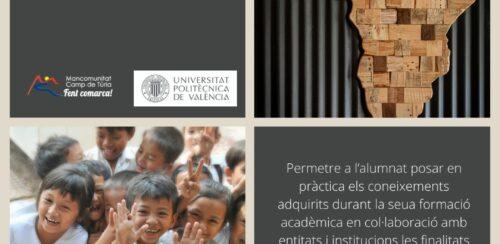 """Beques del programa """"València Coopera 2021"""""""