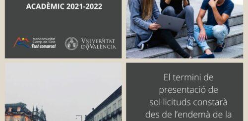 Beques ERASMUS màster de la Universitat de València per al semestre